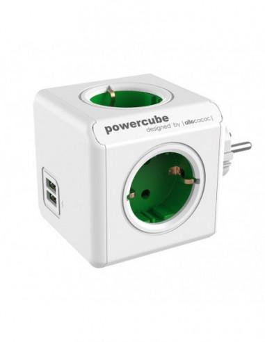PRIZA POWER CUBE 2 USB 4 SCHUKO 16A